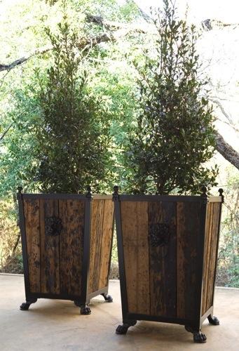 Bobo antiques-silvek planter